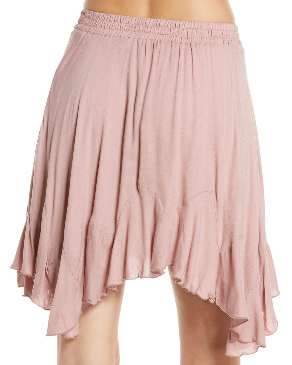 3d8f96b0cd2d Free People - Easy Does It Half Slip Pull-On Skirt - Pink