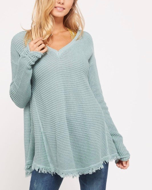 oversize thermal sweater - more colors