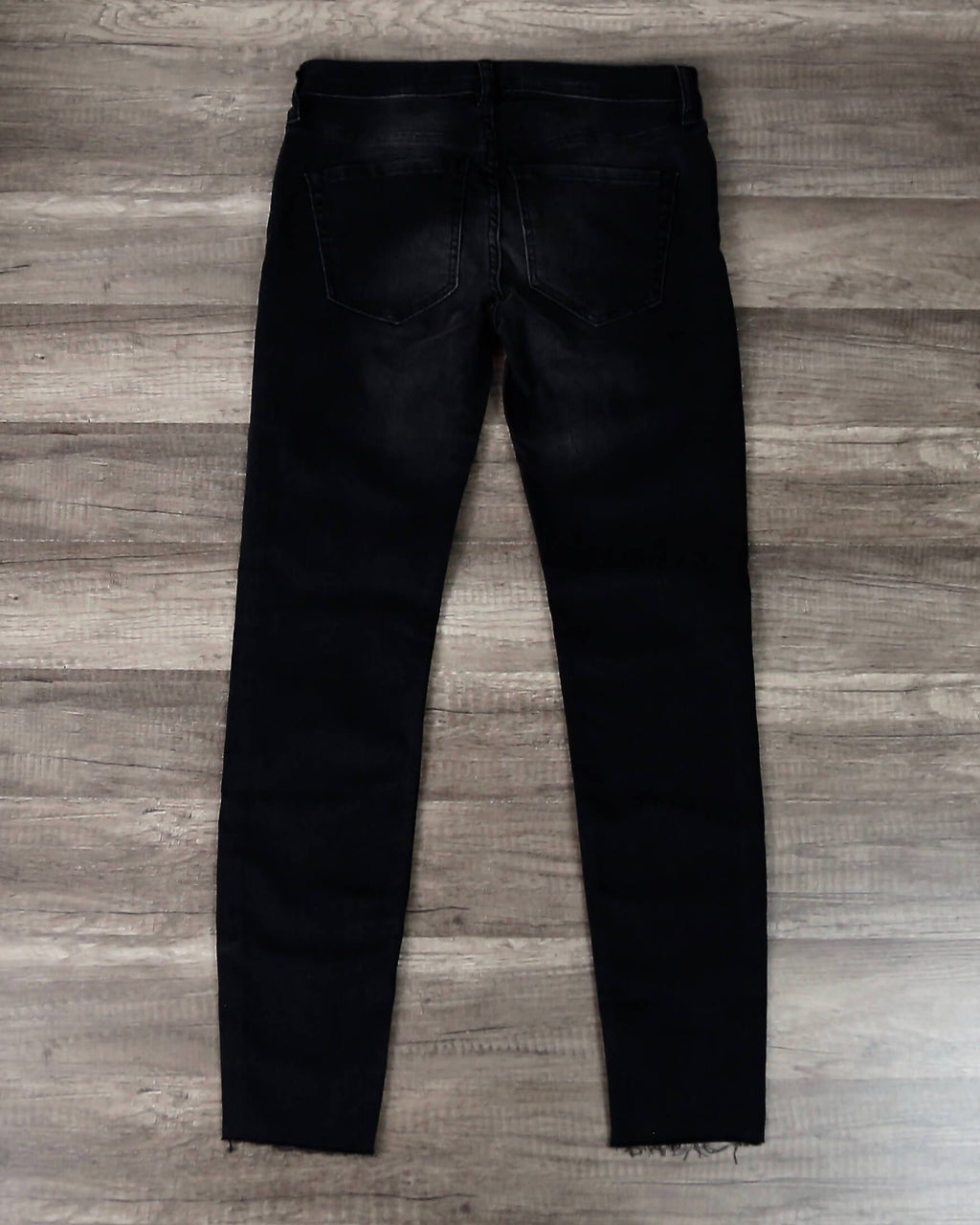 Free People - Reagan Button Front Jeans in Black