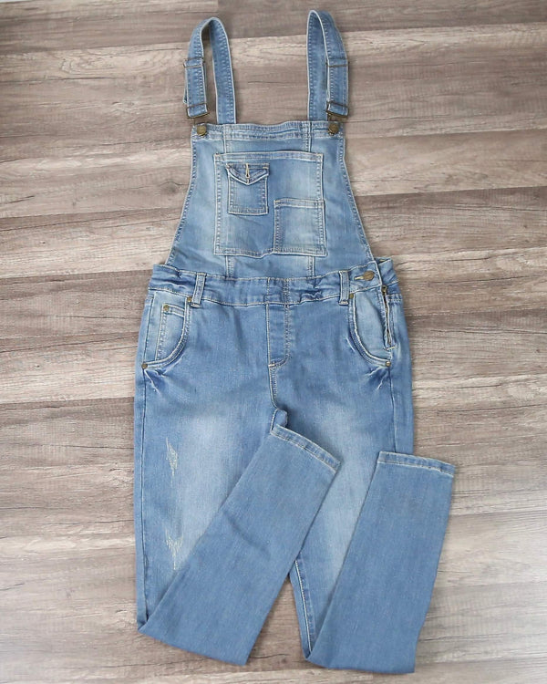 Denim Overalls in More Colors