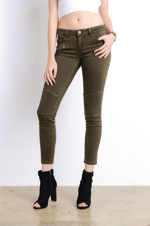 Final Sale - See You Later Biker Jeans - More Colors