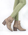 Blowfish - Pauline Rock Pebbled Boot in Taupe