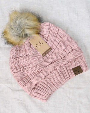 C.C. Beanie - Cozy Knit Beanies Winter Hat in More Colors