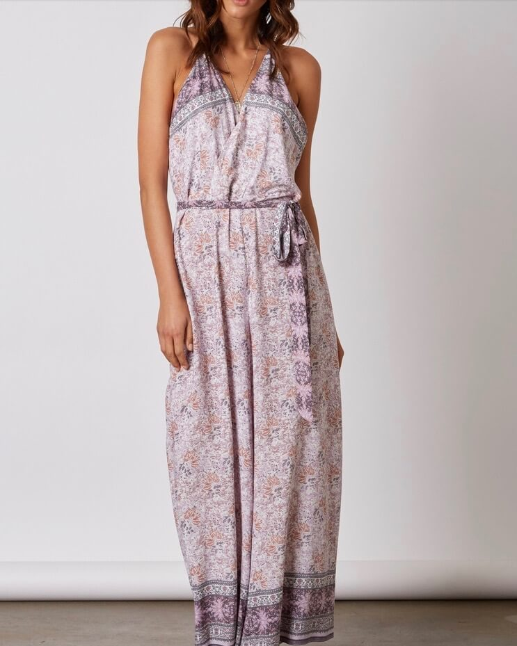 Cotton Candy - Morning Glory Jumpsuit in Lilac