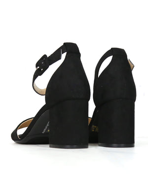 Chinese Laundry - Jody Suede Ankle Strap Heels - Black