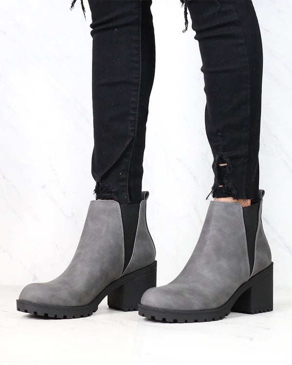Dirty Laundry - Lisbon Platform Leather Bootie - More Colors