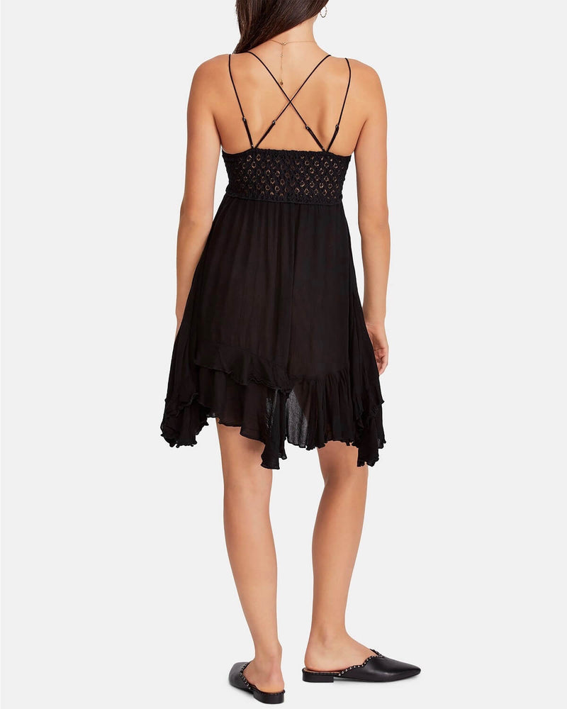 Free People - Adella Slip Dress black