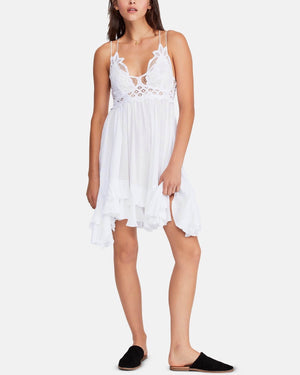 Free People - Adella Slip Dress white