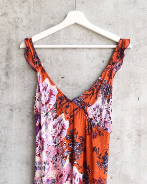 Free People - Lauria Printed Mini Slip