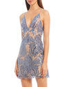 Free People - Night Shimmer Mini Dress - More Colors