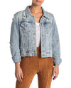 Free People - Rumors Light Wash Denim Jacket