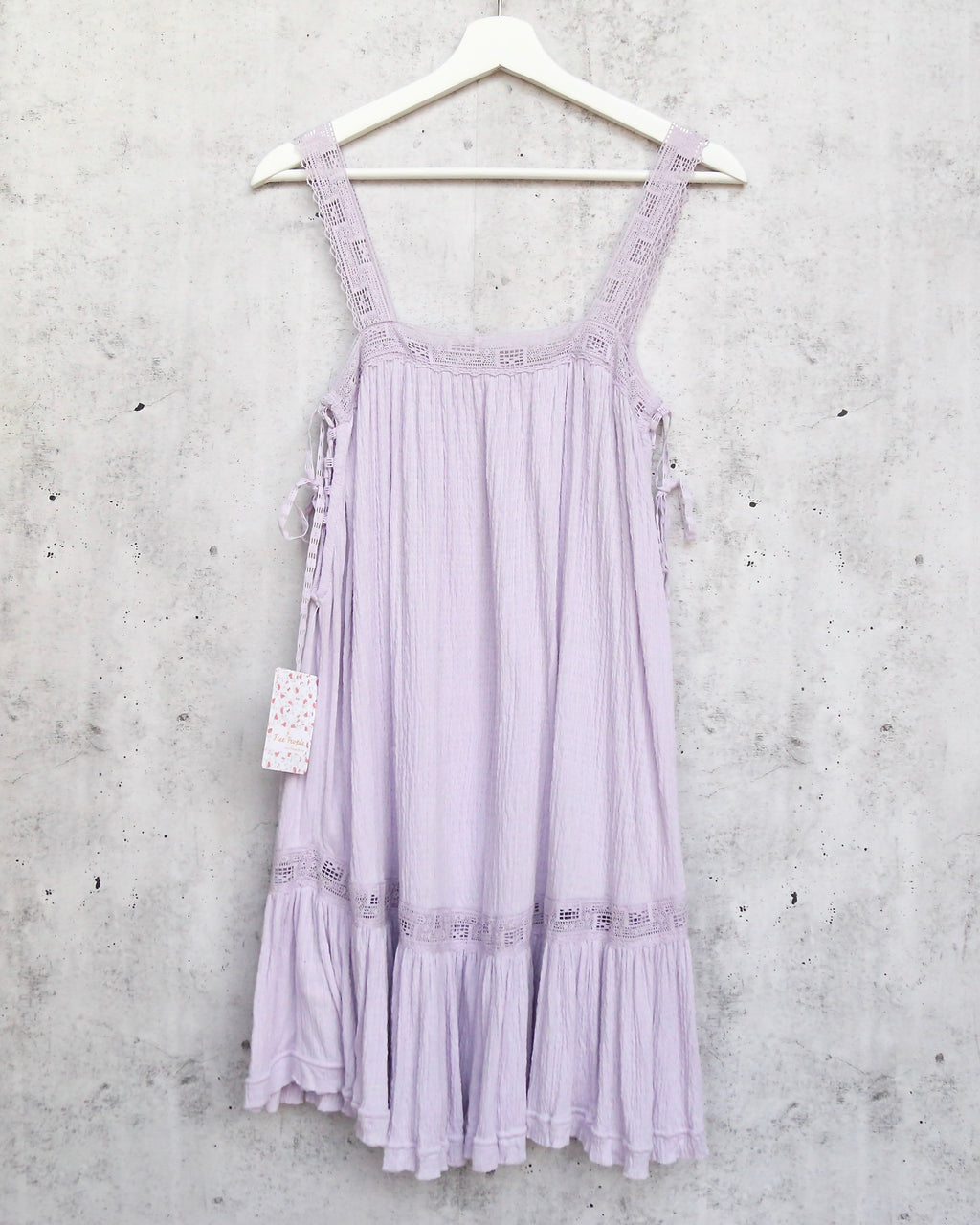 Free People Sweet Thing Tunic In Lilac