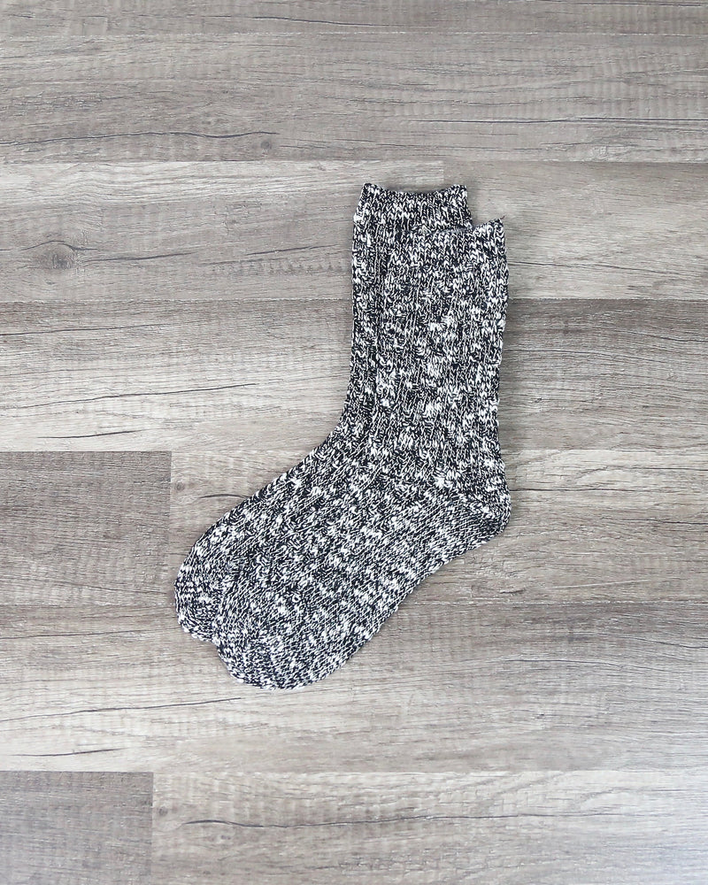 Marled Crew Socks in More Colors