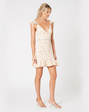 MINKPINK - Kiss the Stars Mini Dress in Golden
