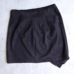 knot that way - vegan suede skirt - more colors