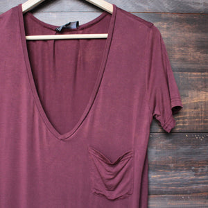 tease me oversize soft v neck tshirt (more colors) - shophearts - 7