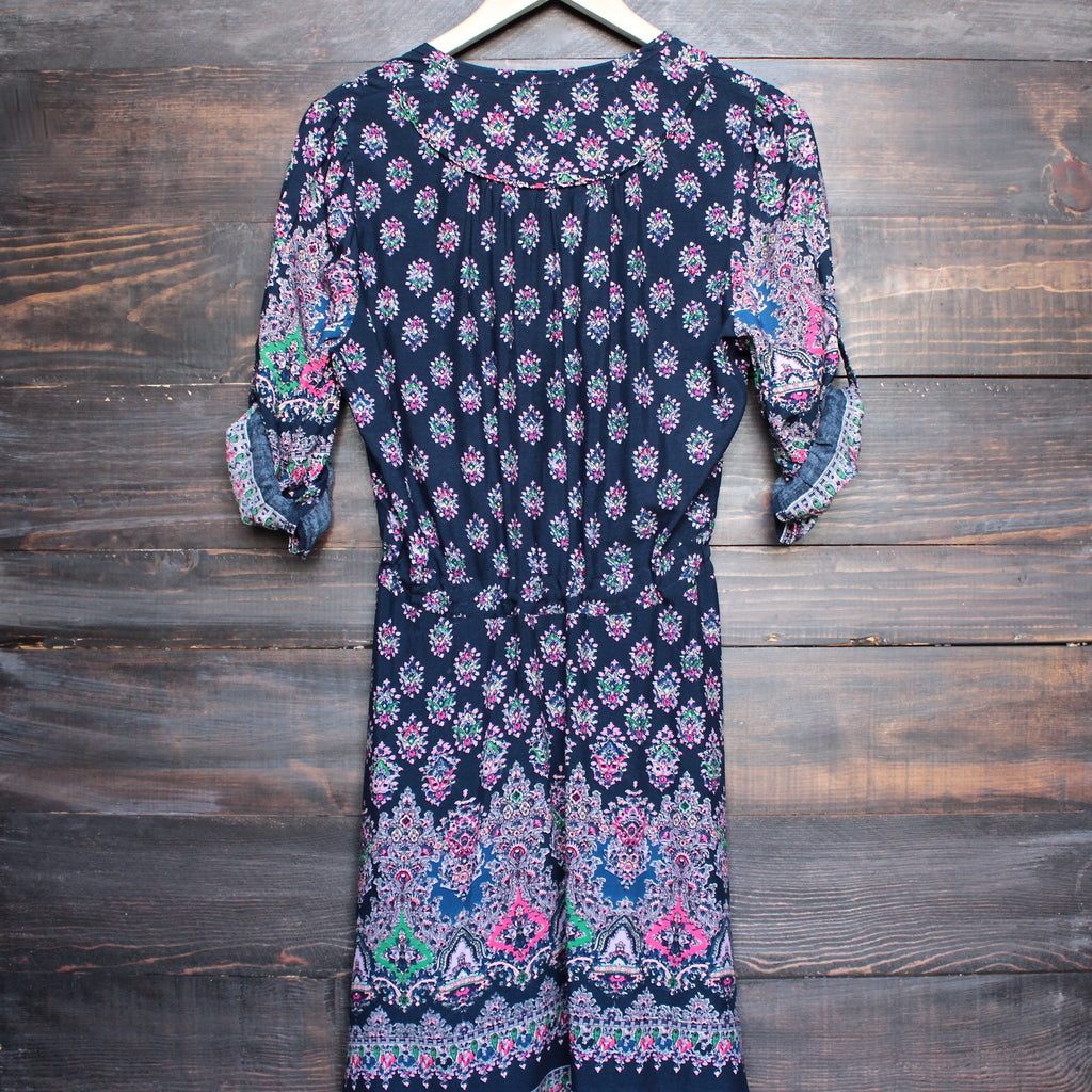 LÉ SALTY - oracle sundress in ink - shophearts - 2