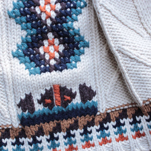 chaser - campfire knit fringed scarf - shophearts - 2