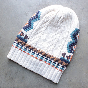 chaser - campfire knit slouchy beanie - shophearts - 5