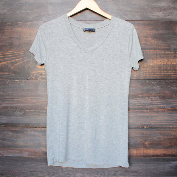 BSIC - vintage acid wash v neck t-shirt (more colors) - shophearts - 4