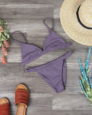 Final Sale - The Minimalist Seamless Bikini Separates - More Colors