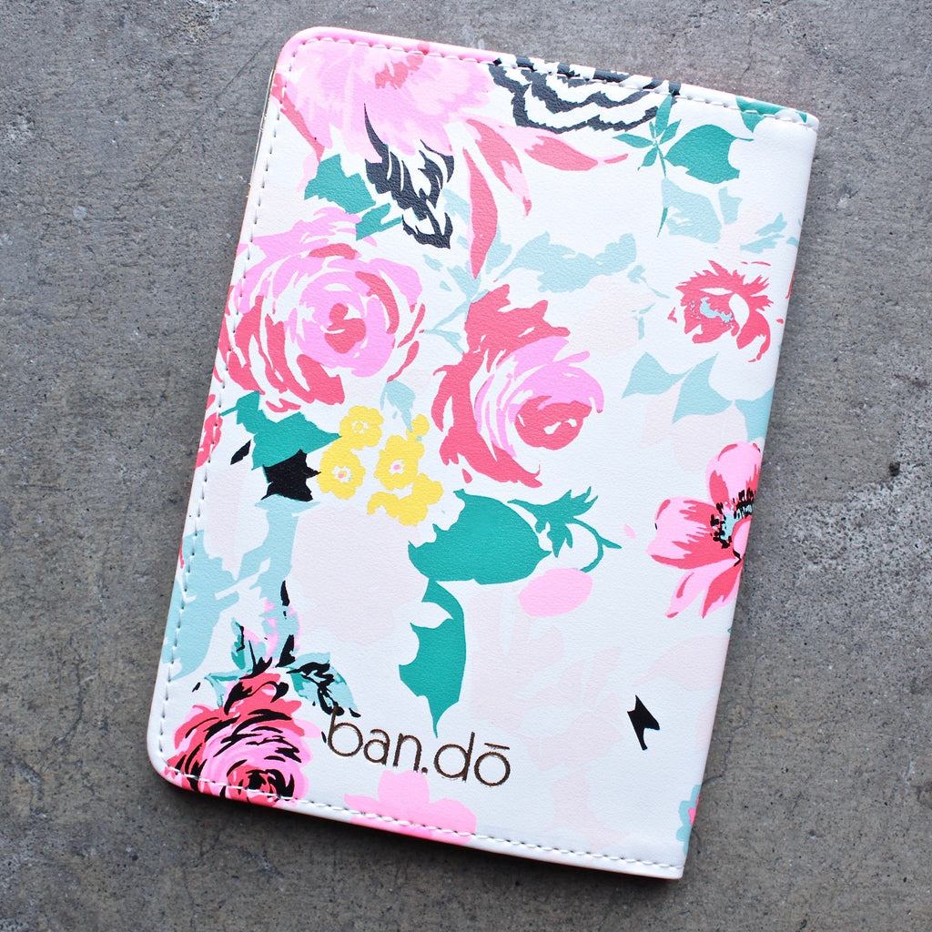 ban.do the getaway florabunda - passport holder - shophearts - 2