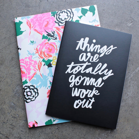 ban.do good ideas notebook set - petite party dot + hopes + dreams