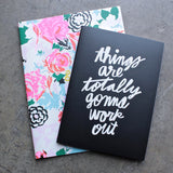 ban.do good ideas notebook set - florabunda + things are totally gonna work out - shophearts - 1