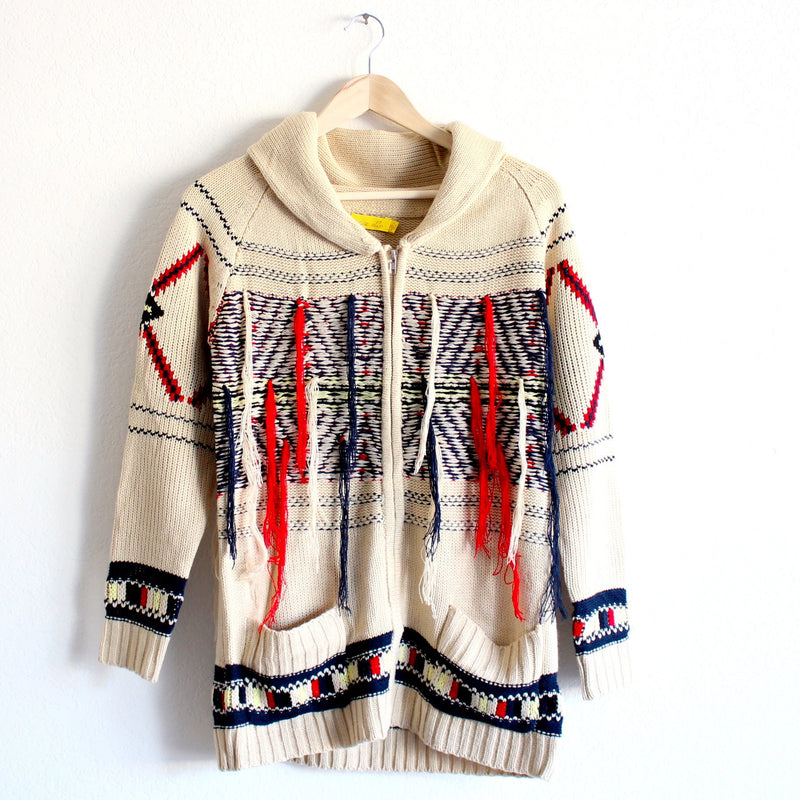 fringe with benefits cardigan - shophearts - 1
