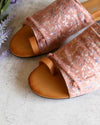 Miracle Miles - Nikki Covered Toe Loop Slides in More Colors