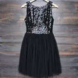 sugar plum dazzling sequin with tulle darling party dress (more colors) - shophearts - 4