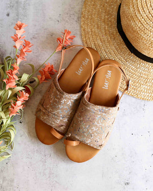 Mi.iM - Nikki - covered toe-loop slides - more colors