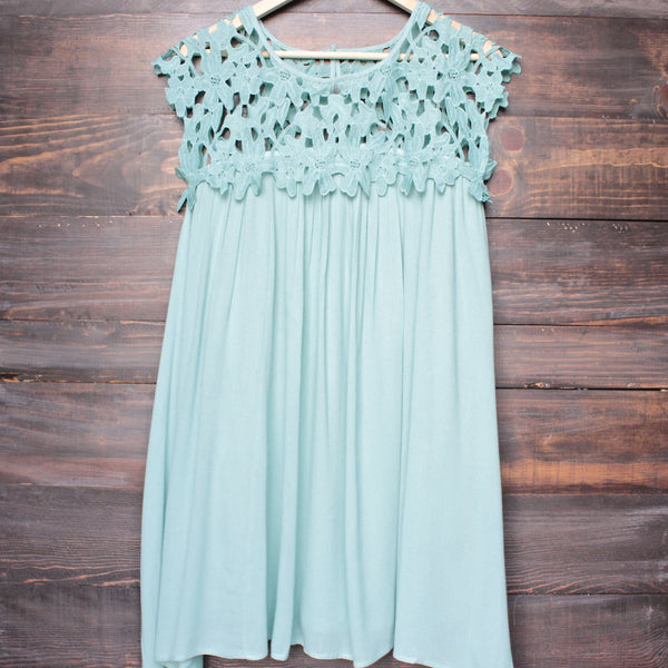 floral crochet lace cap sleeve summer dress (more colors) - shophearts - 5