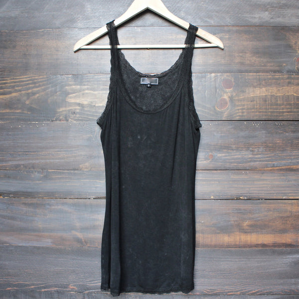soft mineral wash vintage tank top (more colors) - shophearts - 3
