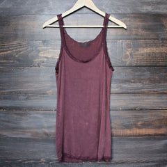 soft mineral wash vintage tank top (more colors) - shophearts - 2