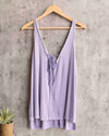 Free People - Scarlett Tank in Lilac