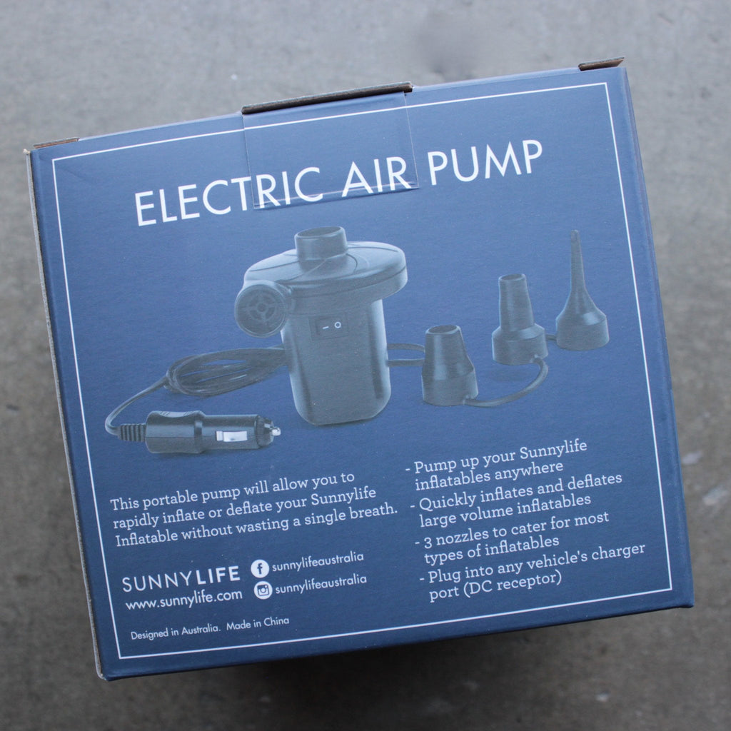 sunnylife - portable electric air pump - shophearts - 2