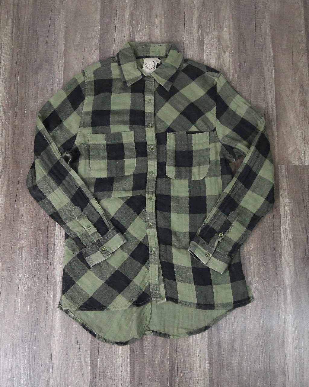 Sea Gypsies - Coney Button Front Plaid Shirt