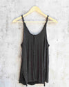 free people - scarlett tank - washed black