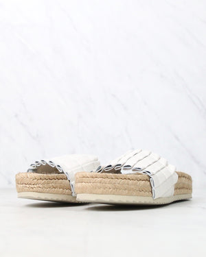 FINAL SALE - Free People - Island Time Espadrille Slide Sandals