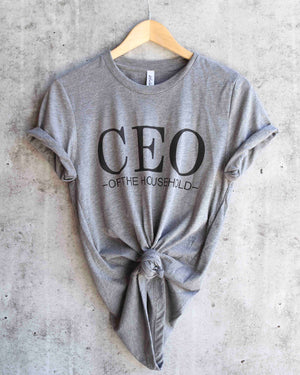 distracted - CEO of the household - grey/black