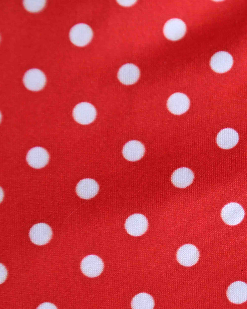Final Sale - Reverse - Polka Dot One Piece Swim in Red/White