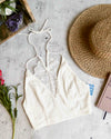free people - Intimately FP The Century Brami Longline Bralette - ivory