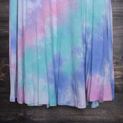 to dye for t shirt tank dress - purple tie dye - shophearts - 4
