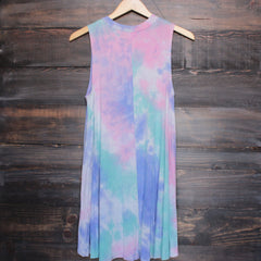 to dye for t shirt tank dress - purple tie dye - shophearts - 2