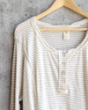 free people - We The Free Hong Kong Henley Tee  - natural