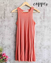 free people - la nite mini swingy ribbed dress - more colors