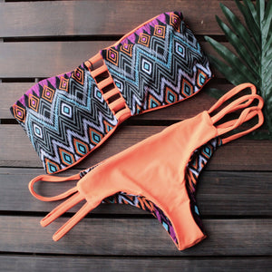 khongboon swimwear - safi handmade two-piece bikini with reversible brazilian-cut bottom - shophearts - 2