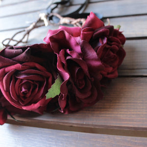Rock N Rose - beatrice handmade floral crown - shophearts - 2