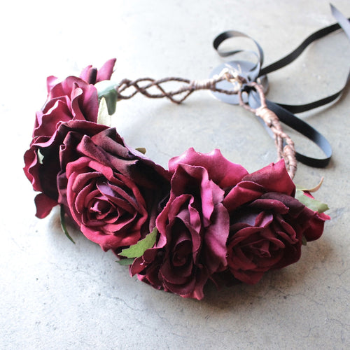 Rock N Rose - beatrice handmade floral crown - shophearts - 1